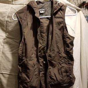 Eddie Bauer Jackets & Coats - Eddie Baur hooded vest Sz.m